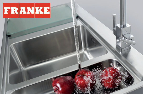 Handle This, Franke sink and tap.